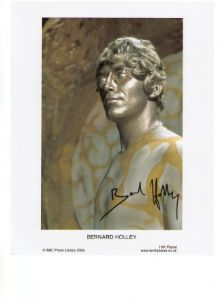 Bernard Holley Rare Signed 10 x 8 Photograph
